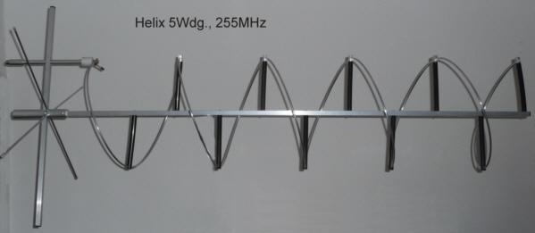 helix antenne 255 mhz. Black Bedroom Furniture Sets. Home Design Ideas
